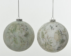 Glob brad, culori natur, 8 cm