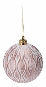 Glob polirasina roz, 10cm