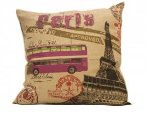 Perna Vintage, model Paris Bus, 43 x 43 cm