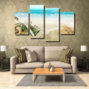 Tablou canvas pe panza beach 3 - KM-CM4-BCH3
