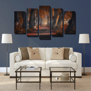 Tablou canvas pe panza landscape 15 - KM-CM5-LND15