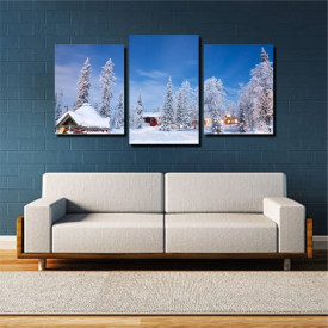 Tablou canvas pe panza landscape 32 - KM-CM3-LND32