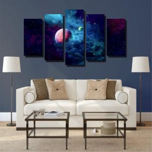 Tablou canvas pe panza space 1 - KM-CM5-SPC1