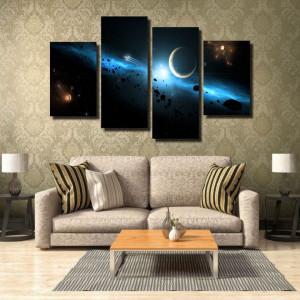 Tablou canvas pe panza space 3 - KM-CM4-SPC3