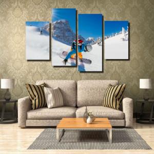 Tablou canvas pe panza sport 6 - KM-CM4-SRT6