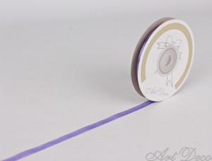 Banda de satin, lila, 6mm x 10m