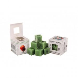 Ceara parfumata, pachet 8 cuburi, aroma Mere/Scortisoara