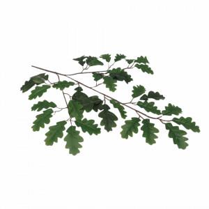 Creanga artificiala, frunze stejar, 55 cm