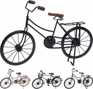 Decoratiune bicicleta, neagra/aurie, 36 cm