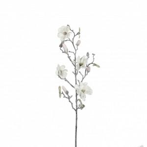 Floare artificiala, Magnolie, fulgi, 72 cm