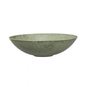 Platou polipropilena, verde, diametru 28 cm