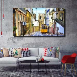 Tablou canvas pe panza city 4 - KM-CM1-CTY4