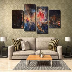 Tablou canvas pe panza space 4 - KM-CM4-SPC4