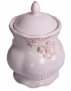 Bol de portelan, alb, pentru condimente, 14x9 cm