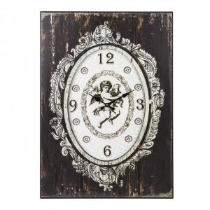 Ceas de perete, Vintage, MDF, 70x50x3 cm