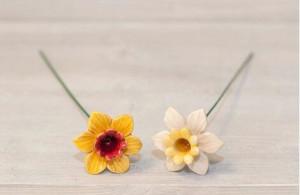 Floare ceramica Narcisa mini