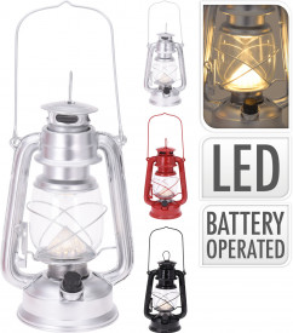 Lanterna tip felinar, cu LED, 24 cm