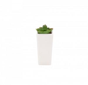 Planta plastic, ghiveci mare, 12x12x24 cm