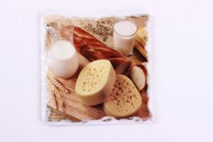 Suport din ceramica pentru pahare, 11 cm