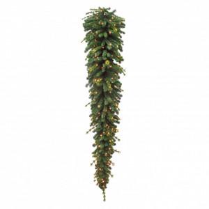 Brad artificial tip ghirlanda, Belian, cu LED, 288L, 270 cm