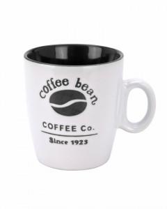 Cana de ceramica, model coffee bean, 220 ml