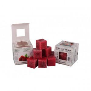 Ceara parfumata, pachet 8 cuburi, aroma Zmeura