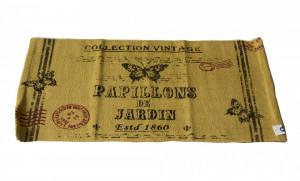 Covoras baie, Vintage Papillons, 80 x 50 cm