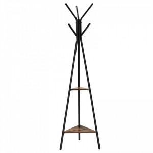 Cuier piramida, MDF/Metal, 49x179 cm