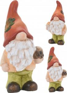 Figurina ceramica, Gnom, 17 cm