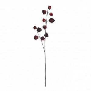 Floare artificiala, Physalis rosu, 94 cm