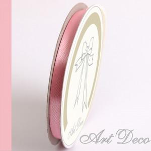 Rola de satin, 6mm*25m, roz