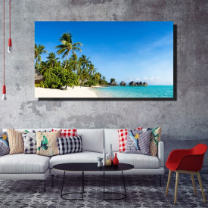 Tablou canvas pe panza beach 7 - KM-CM1-BCH7
