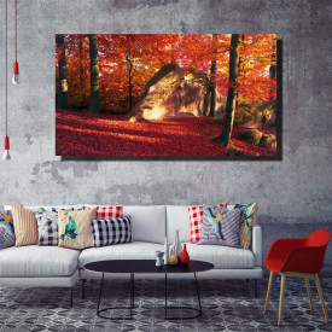 Tablou canvas pe panza landscape 19 - KM-CM1-LND19