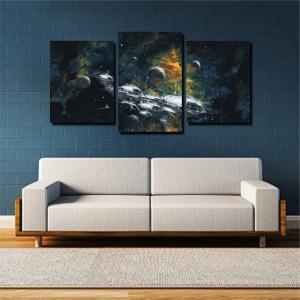 Tablou canvas pe panza space 2 - KM-CM3-SPC2