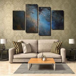 Tablou canvas pe panza space 6 - KM-CM4-SPC6