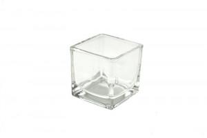 Vaza de sticla, 6x6 cm