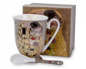 Cana de portelan cu lingurita, ceai, Gustav Klimt