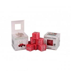 Ceara parfumata, pachet 8 cuburi, aroma Cirese