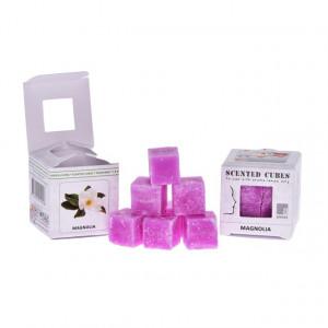 Ceara parfumata, pachet 8 cuburi, aroma Magnolie