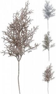 Creanga artificiala, cu sclipici, 54 cm, auriu/argintiu/rosegold