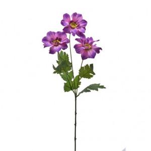 Floare artificiala, Zinnia, 61 cm
