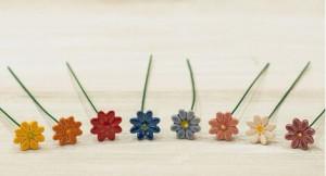 Floare ceramica Mini Daisy
