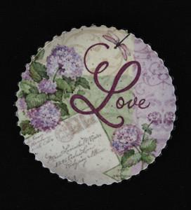 Magnet cu mesaj, Love