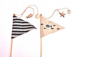 Ornament steag marinaresc