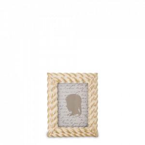 Rama foto, cadru auriu, 12 x 9,5 cm