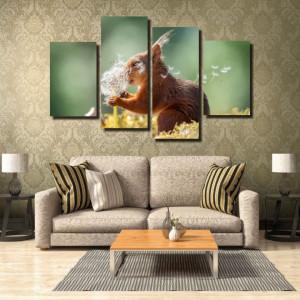 Tablou canvas pe panza animals 4 - KM-CM4-ANM4