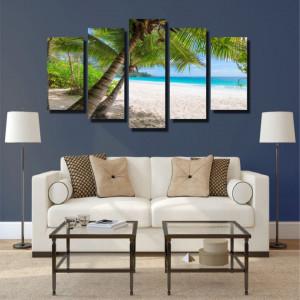Tablou canvas pe panza beach 9 - KM-CM5-BCH9