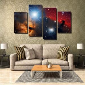Tablou canvas pe panza space 7 - KM-CM4-SPC7