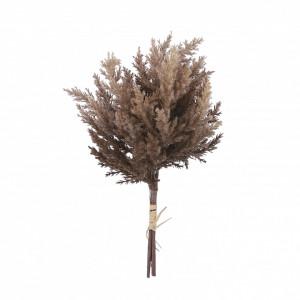 Buchet artificiala Erica, maro, 39x18 cm