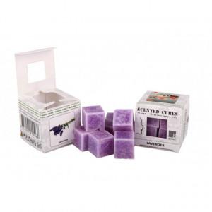 Ceara parfumata, pachet 8 cuburi, aroma Lavanda
